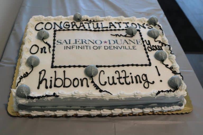 Salerno Duane INFINITI Cuts Ribbon on Reconstructed Showroom