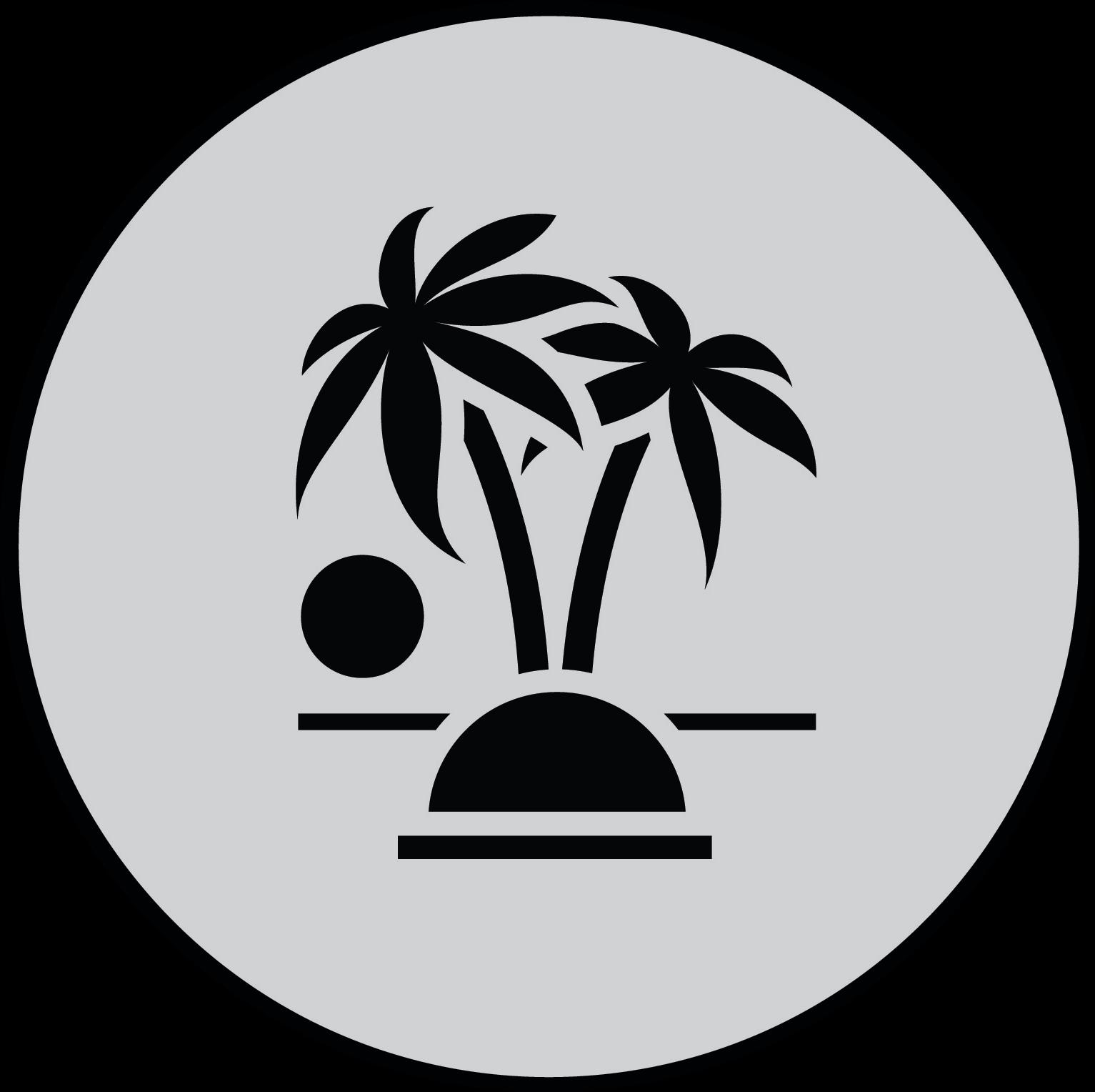 Vacation Circle Graphic