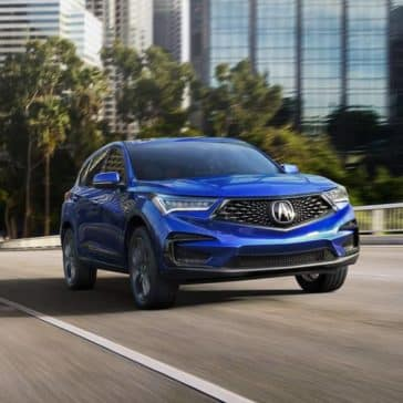 2019 Acura RDX on highway