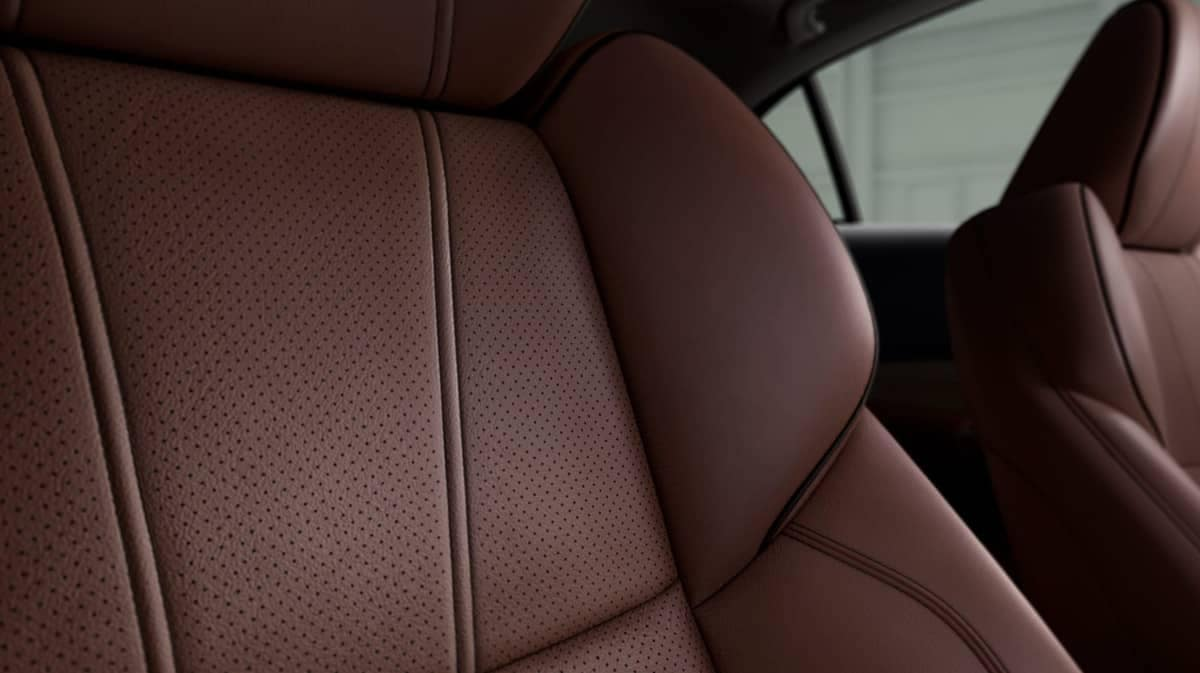 2019 Acura TLX perforated Milano leather seats