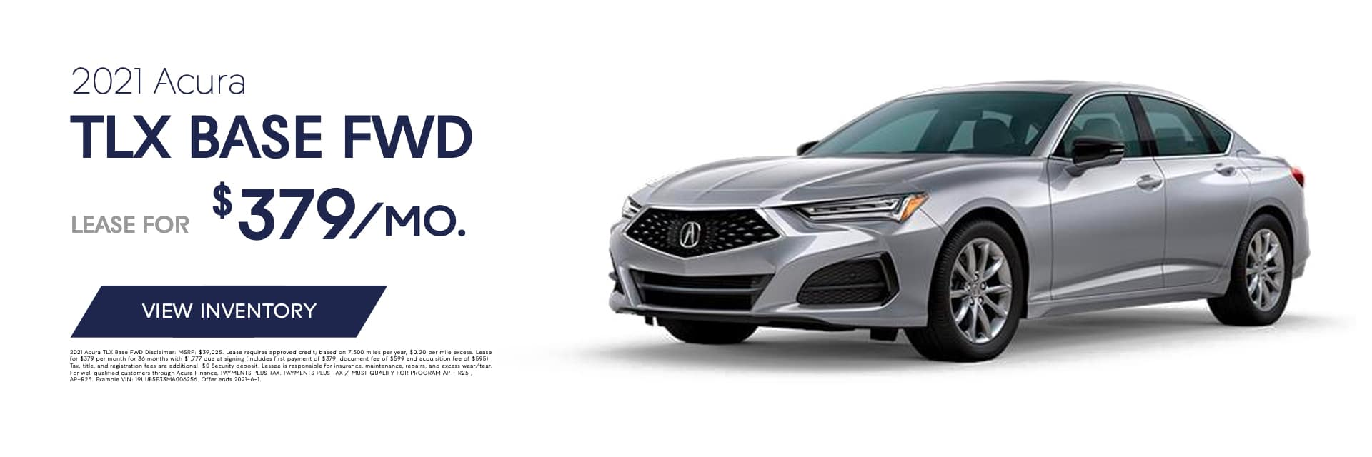 EAG_ABE_Banner_2021 Acura TLX BASE FWD