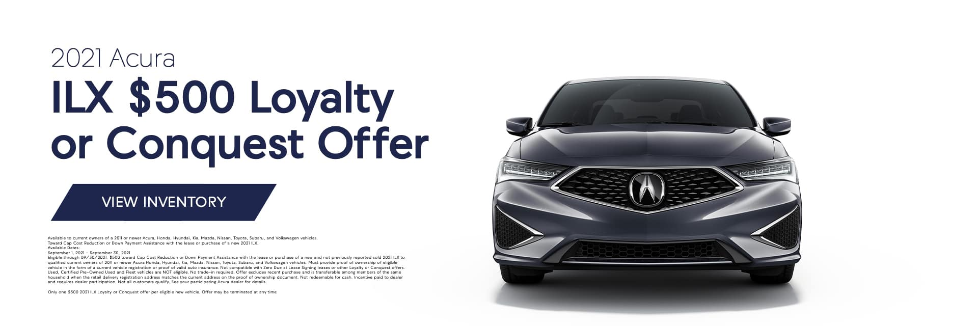 EAG_ABE_Banner_ILX $500 Loyalty or Conquest Offer