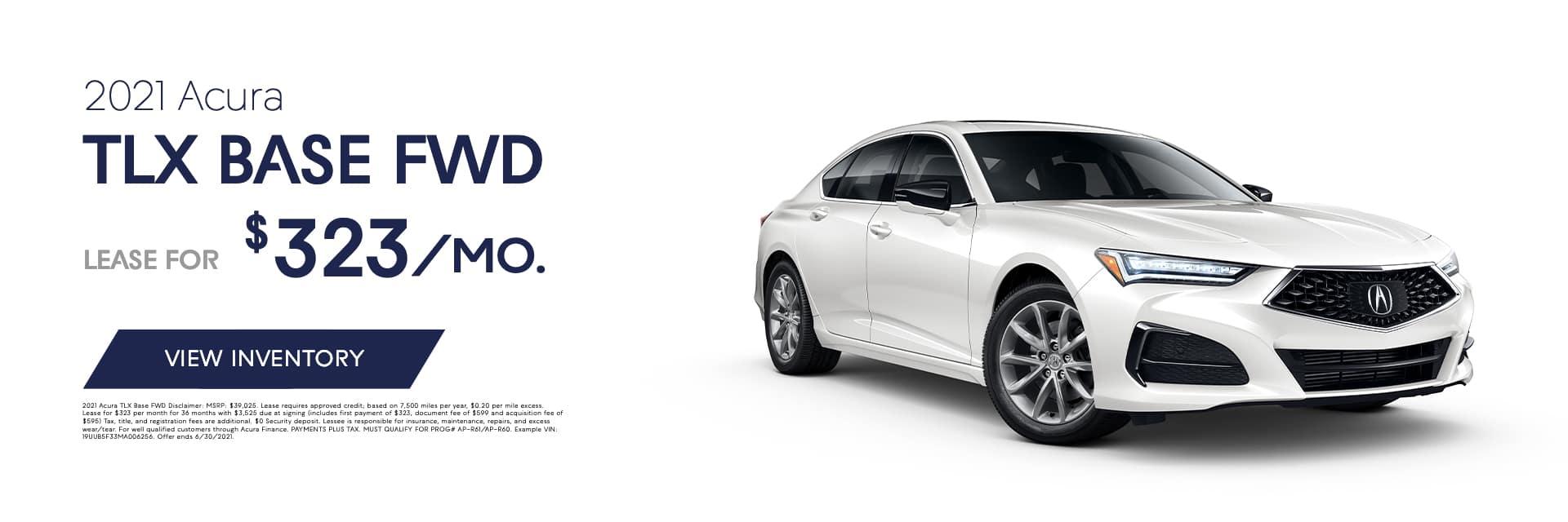 EAG_AOB_Banner_2021 Acura TLX BASE FWD