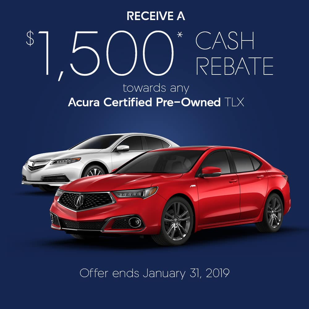 Certified Pre-owned TLX Promo