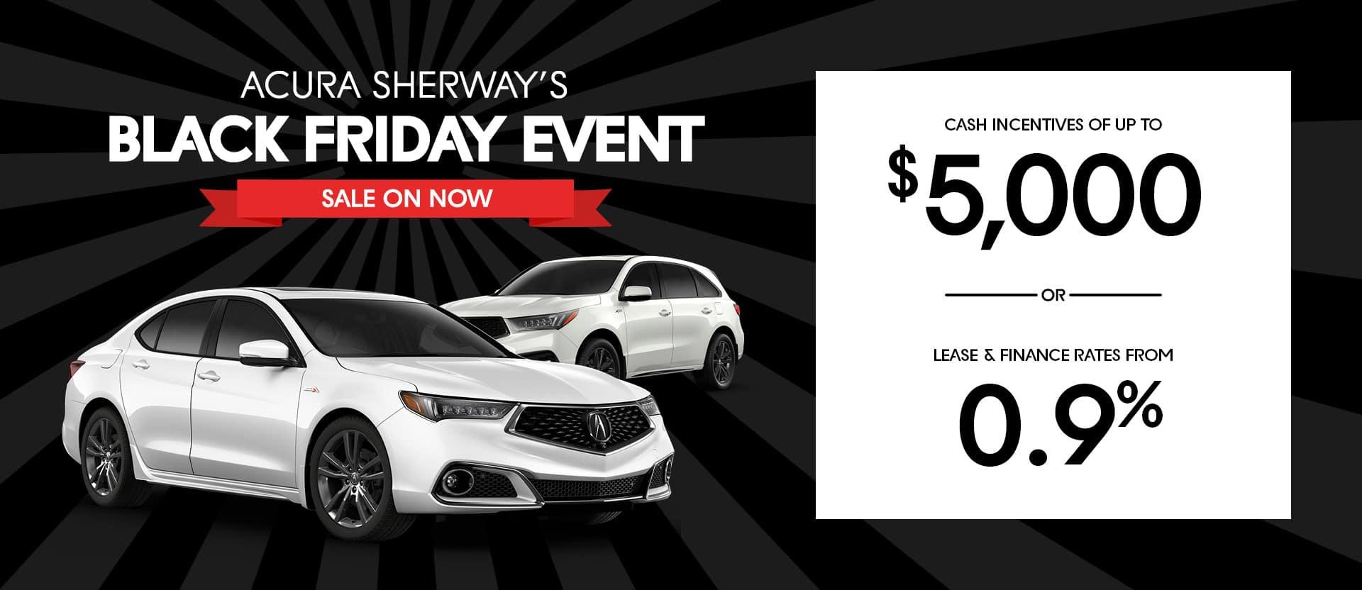 Acura Sherway Black Friday