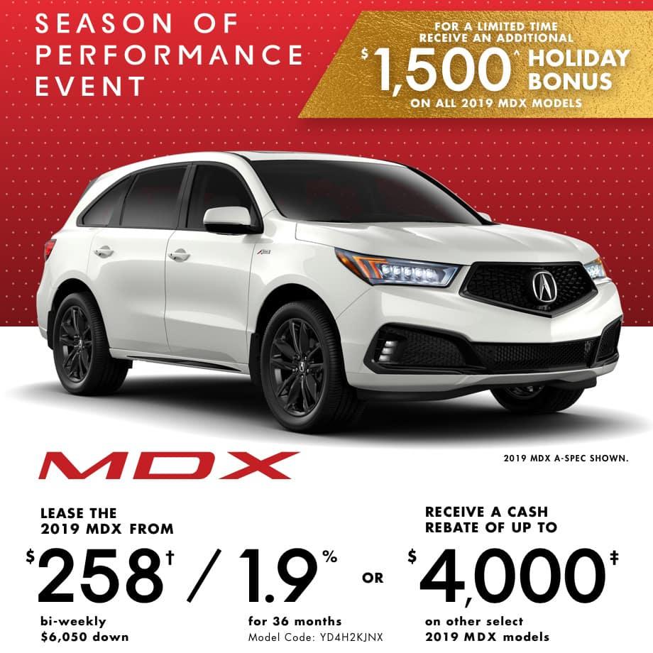 2019 Acura MDX Special