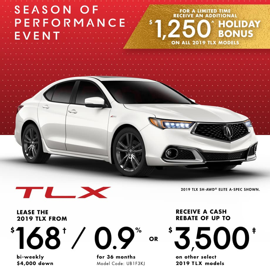 2019 Acura TLX Offer