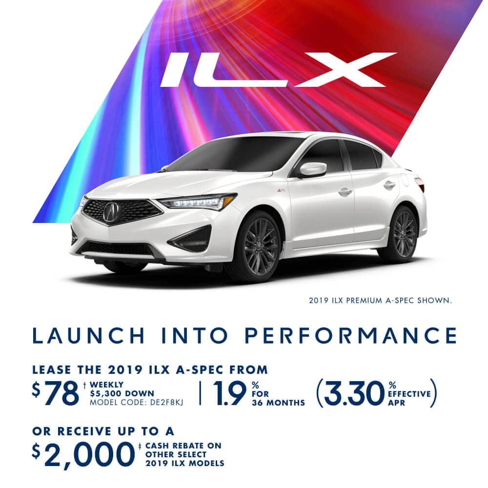 2019 Acura ILX Special