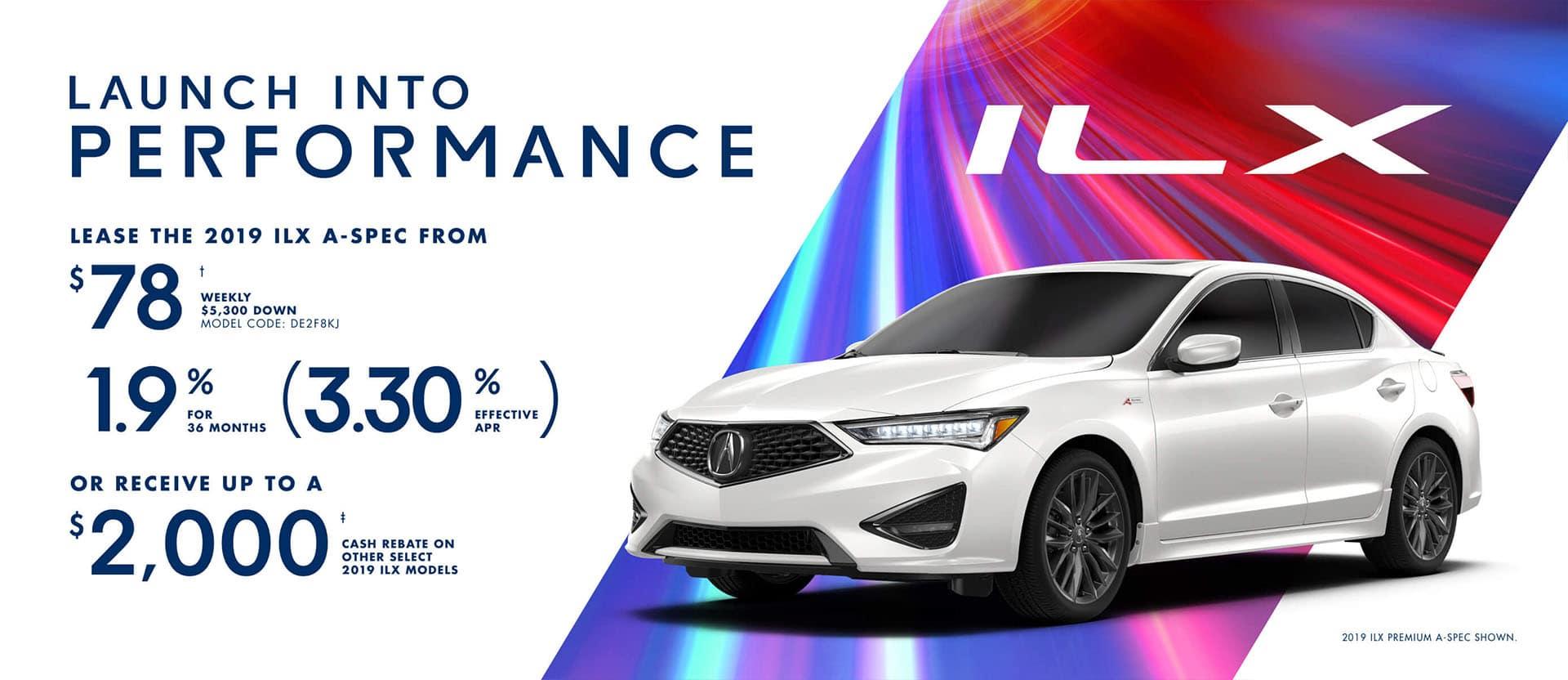 Acura ILX January 2019 Special