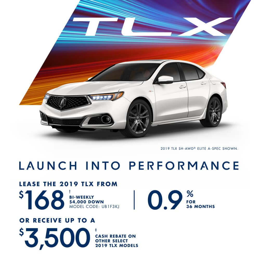 2019 Acura TLX Special