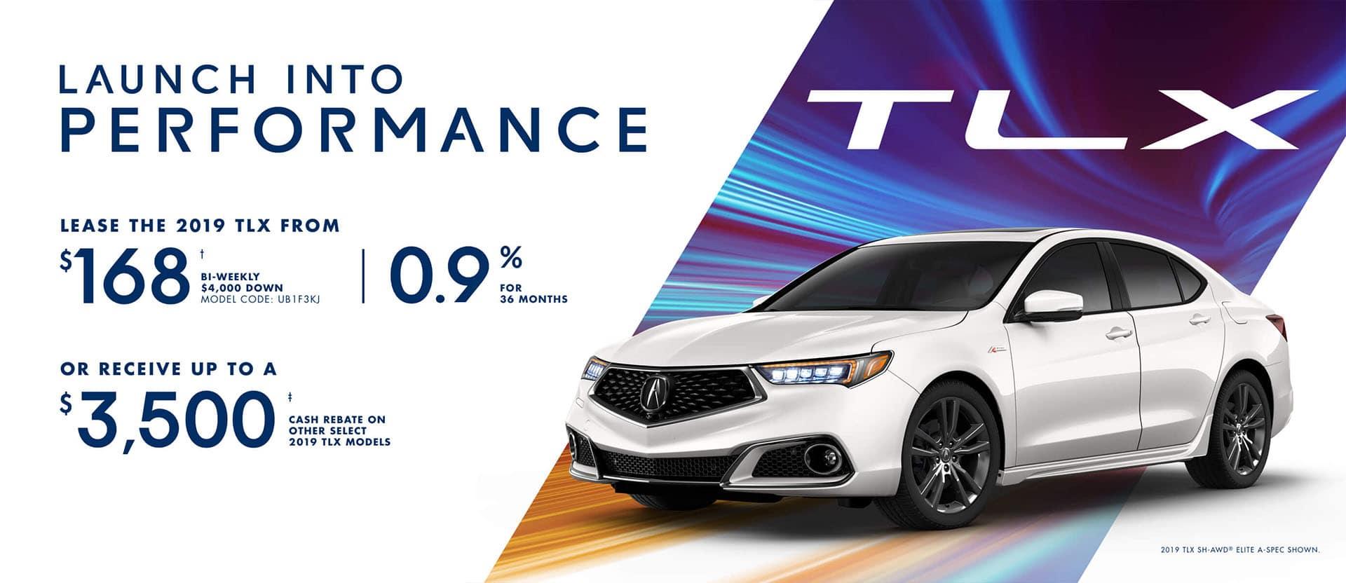 Acura TLX January 2019 Special