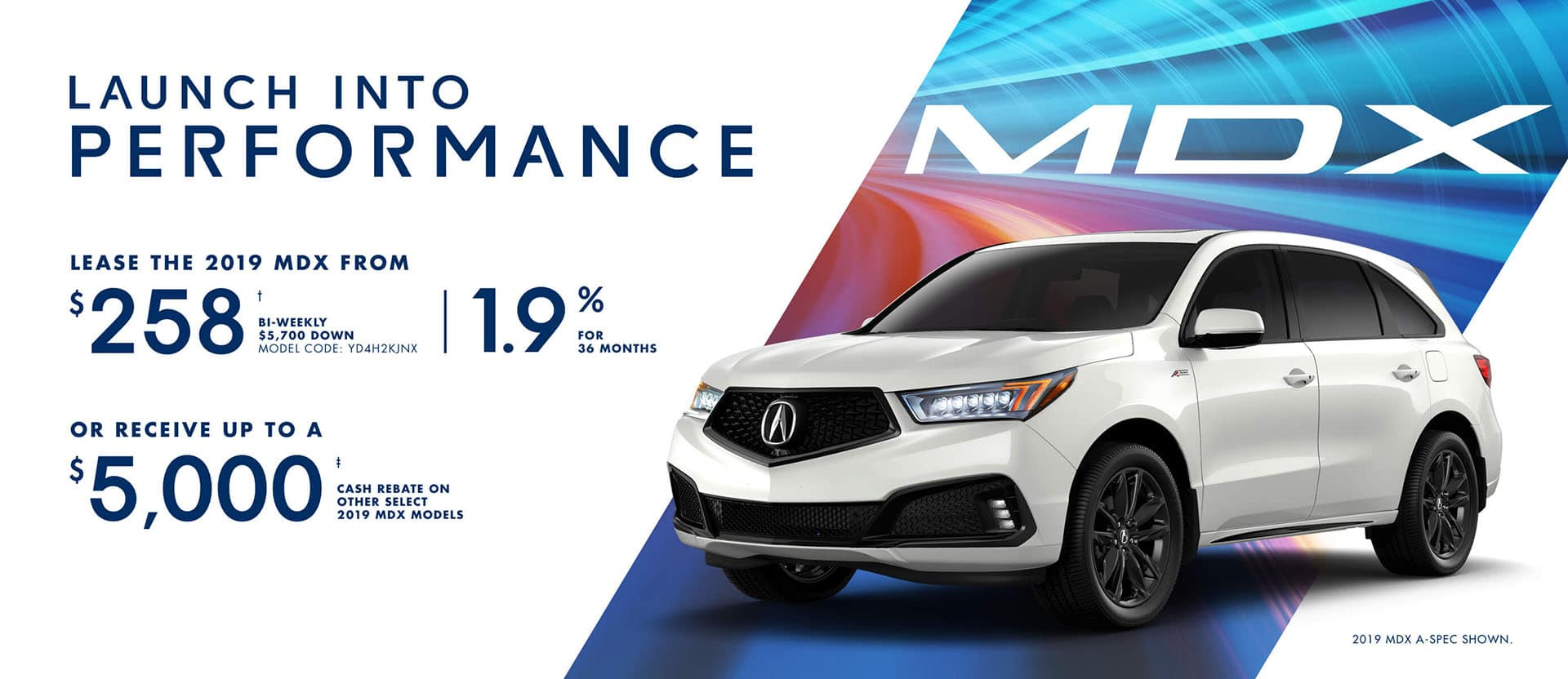 Acura MDX February Special Offer