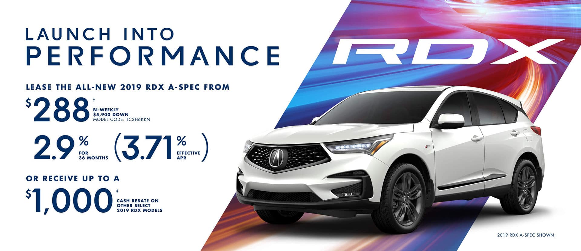 Acura RDX February Special Offer