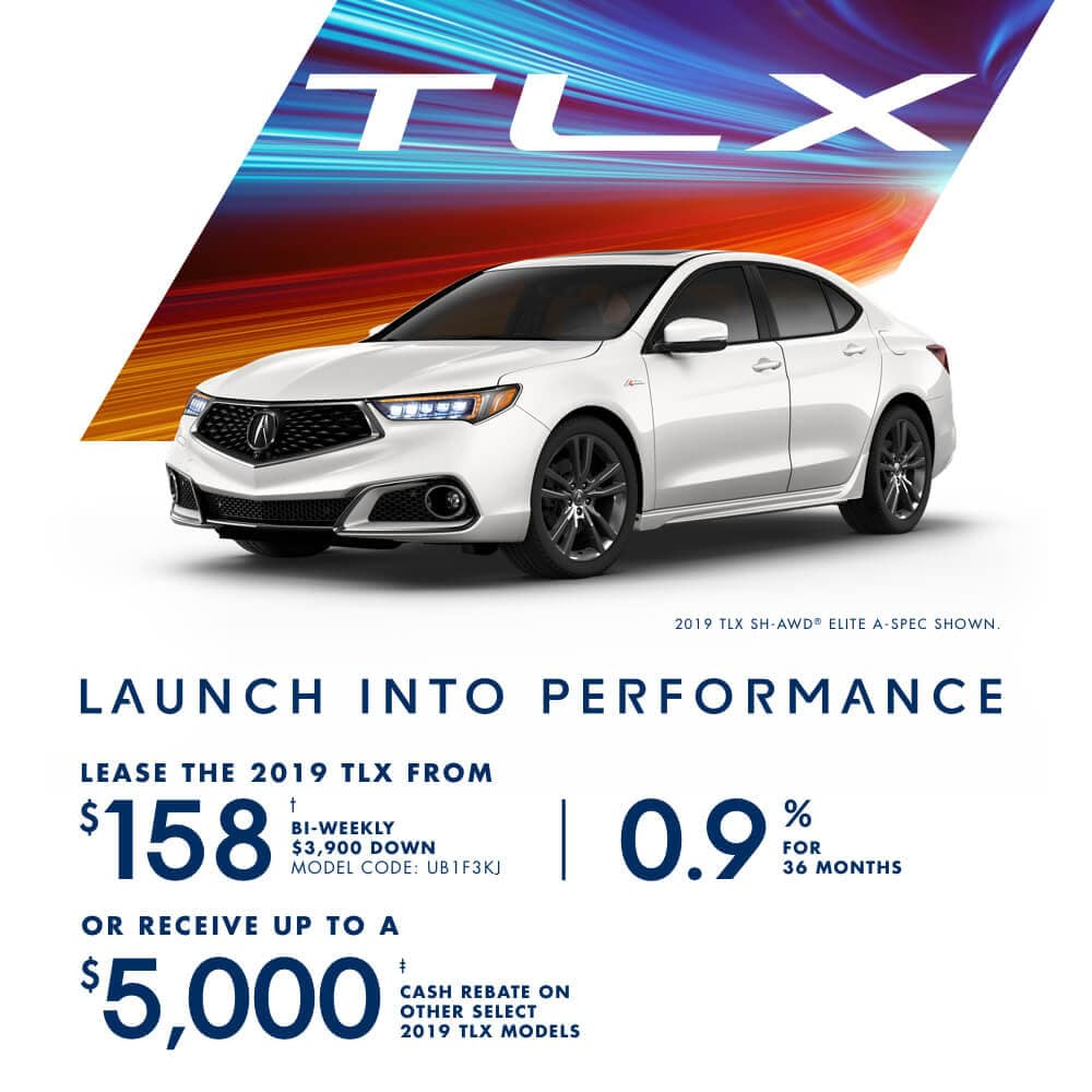 Acura TLX February Special Offer