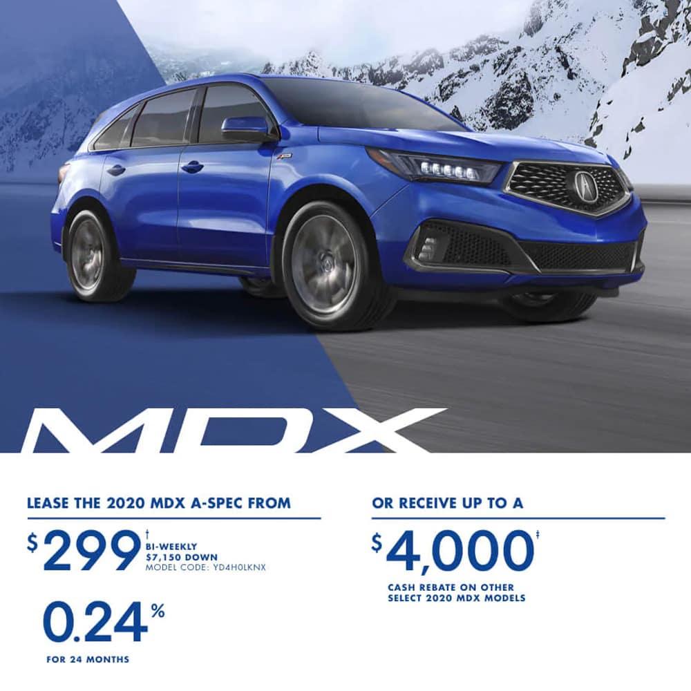 2020 Acura MDX Special