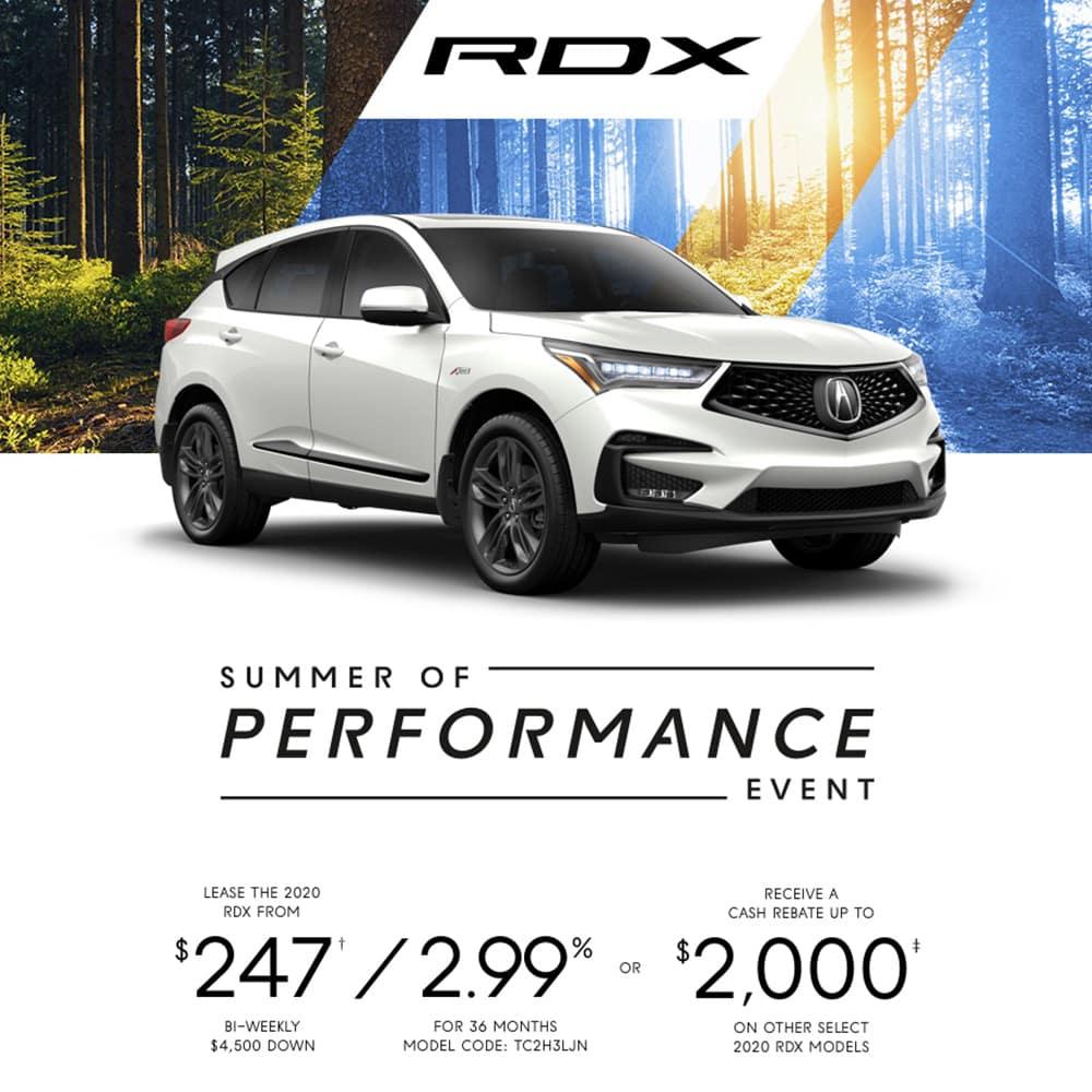 2019 Acura RDX Special