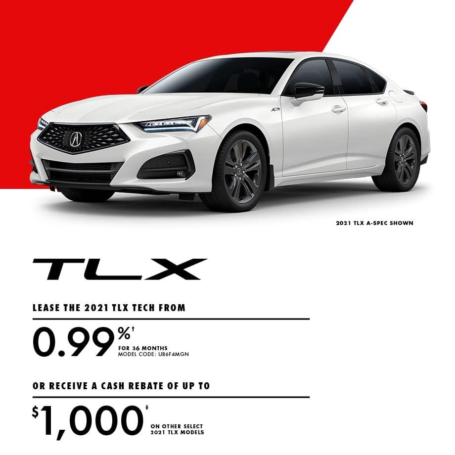 2021 Acura TLX Special
