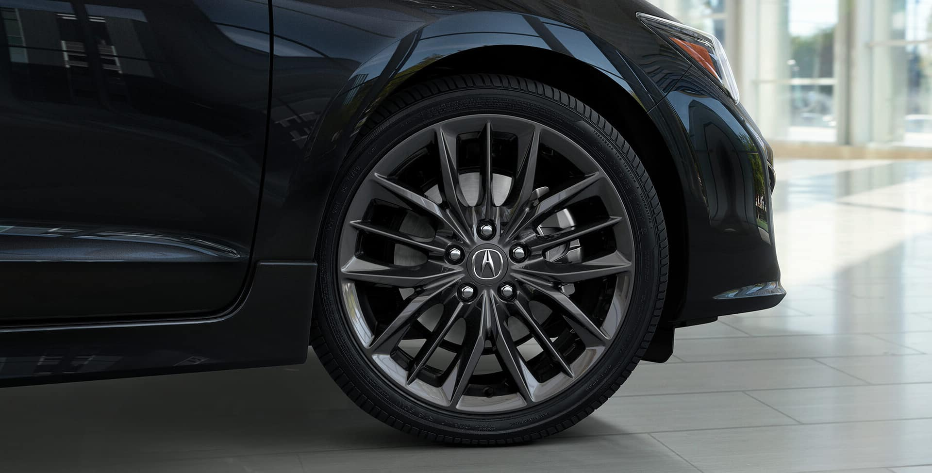 Acura ILX 18-in alloy wheels