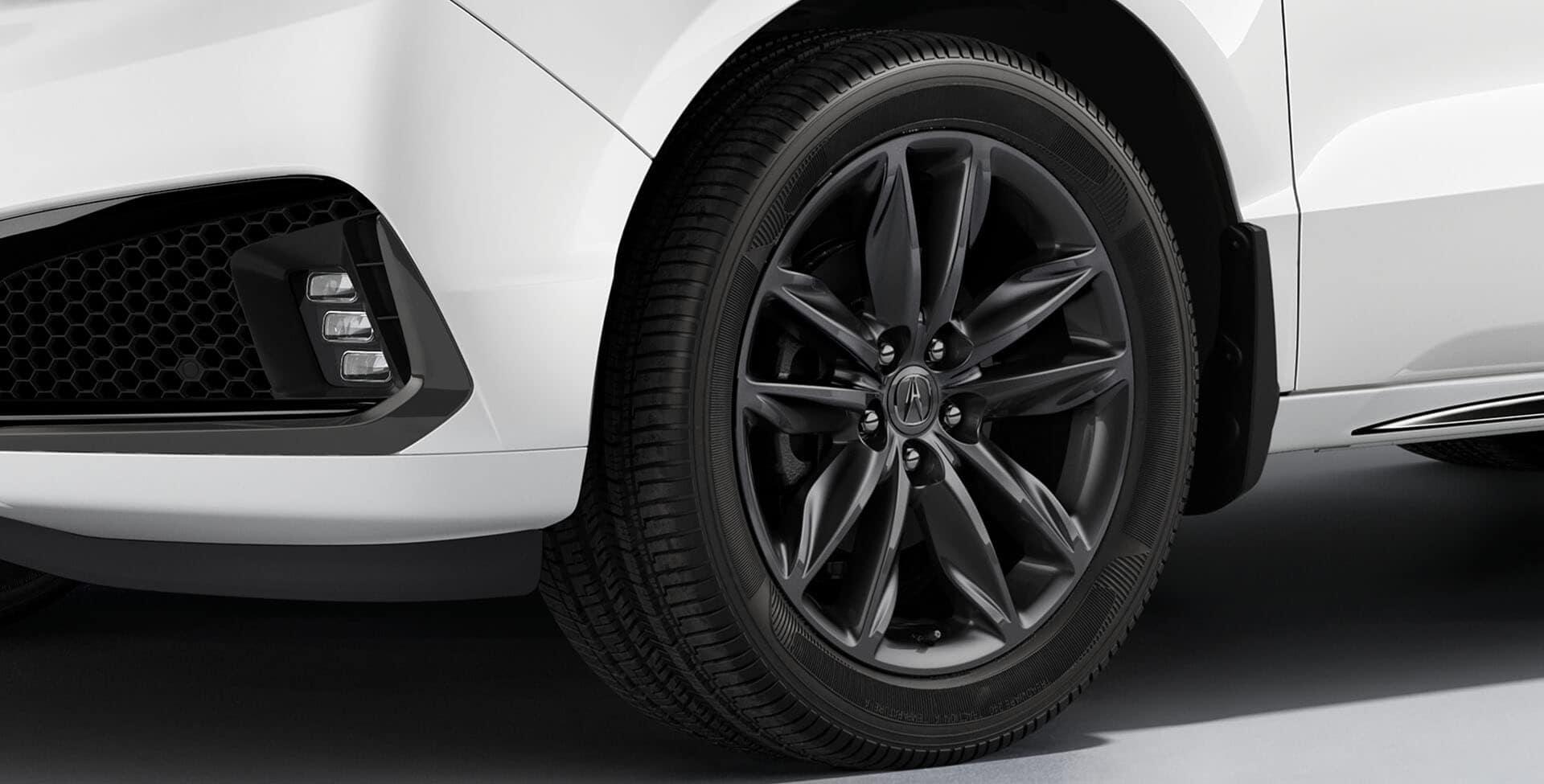 Acura MDX shark wheels