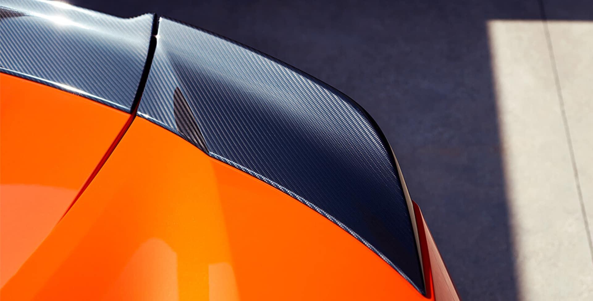 NSX carbon fibre
