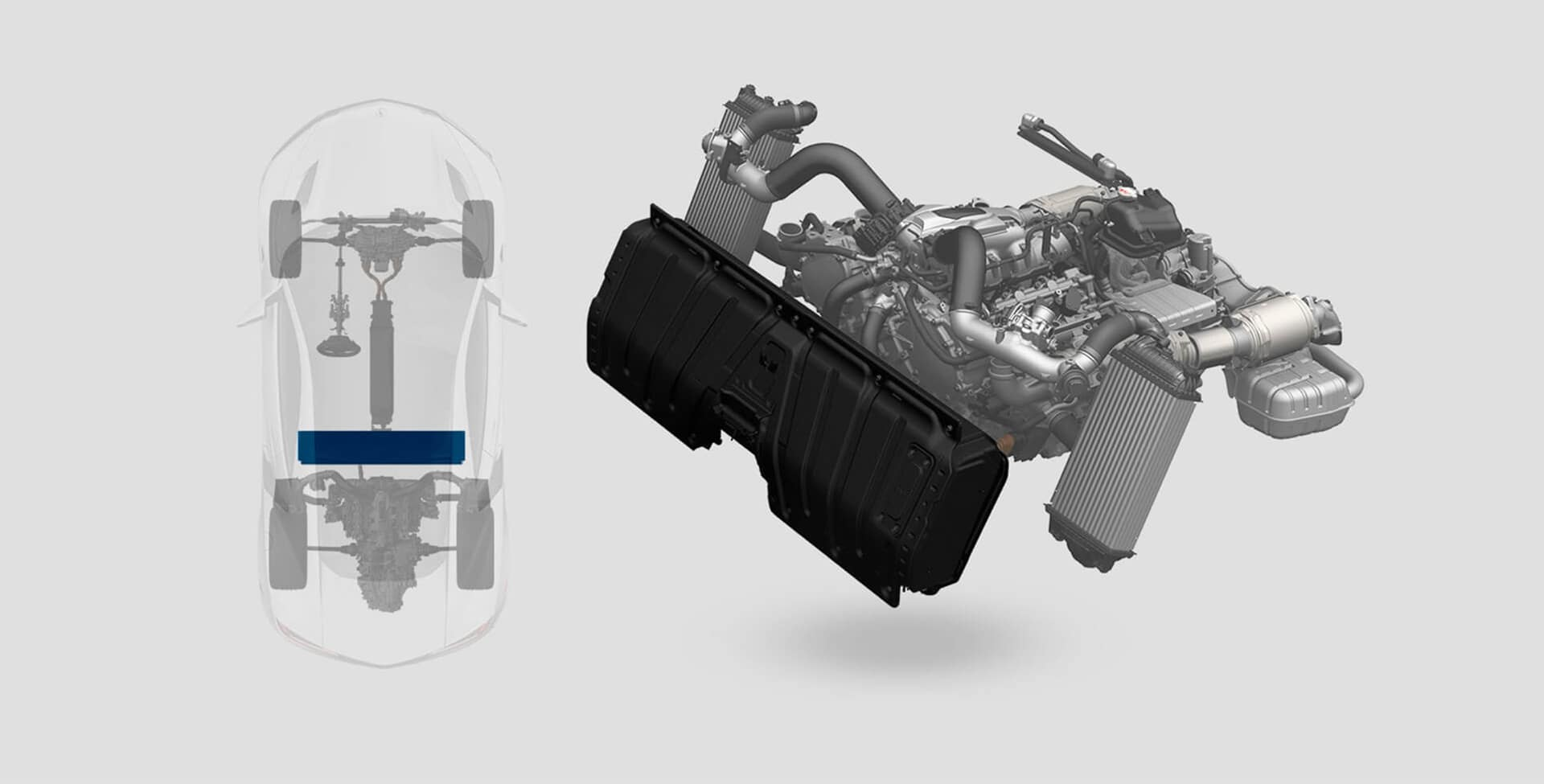 Acura NSX intelligent power unit