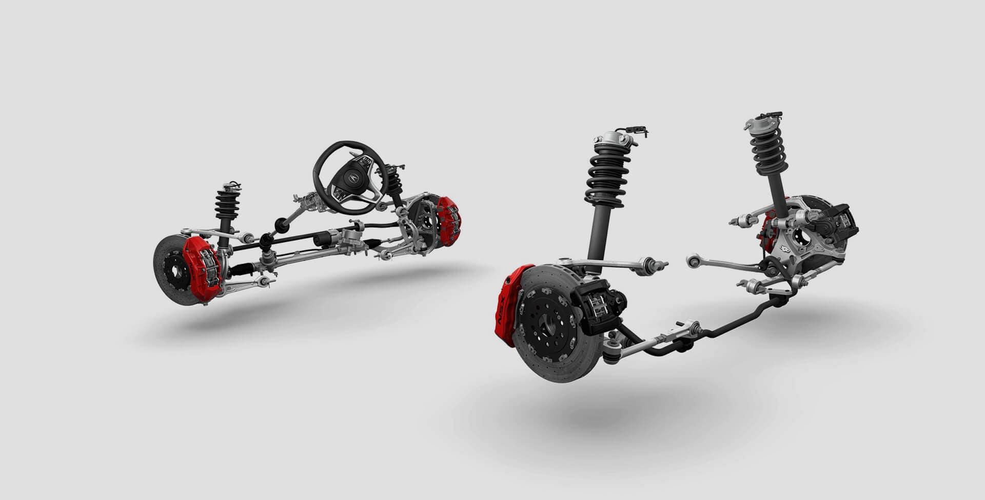 NSX suspension