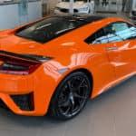 Orange NSX