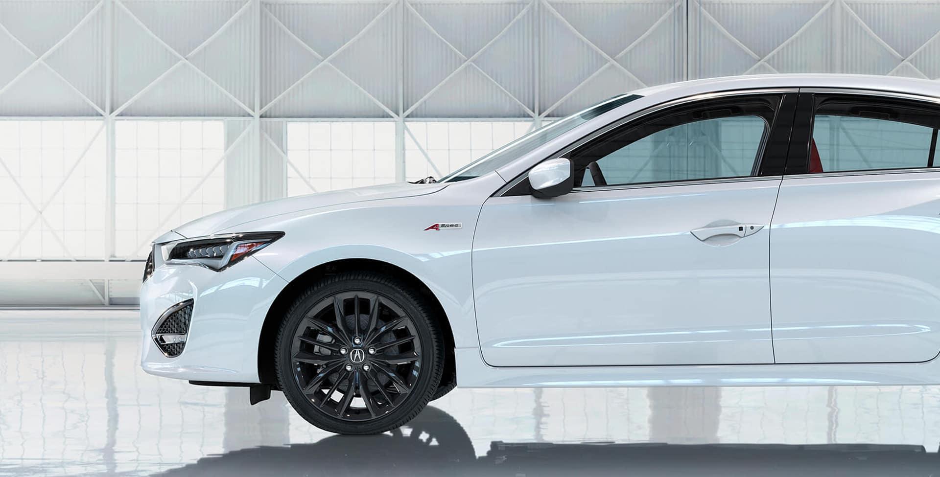 Acura ILX A-spec badging