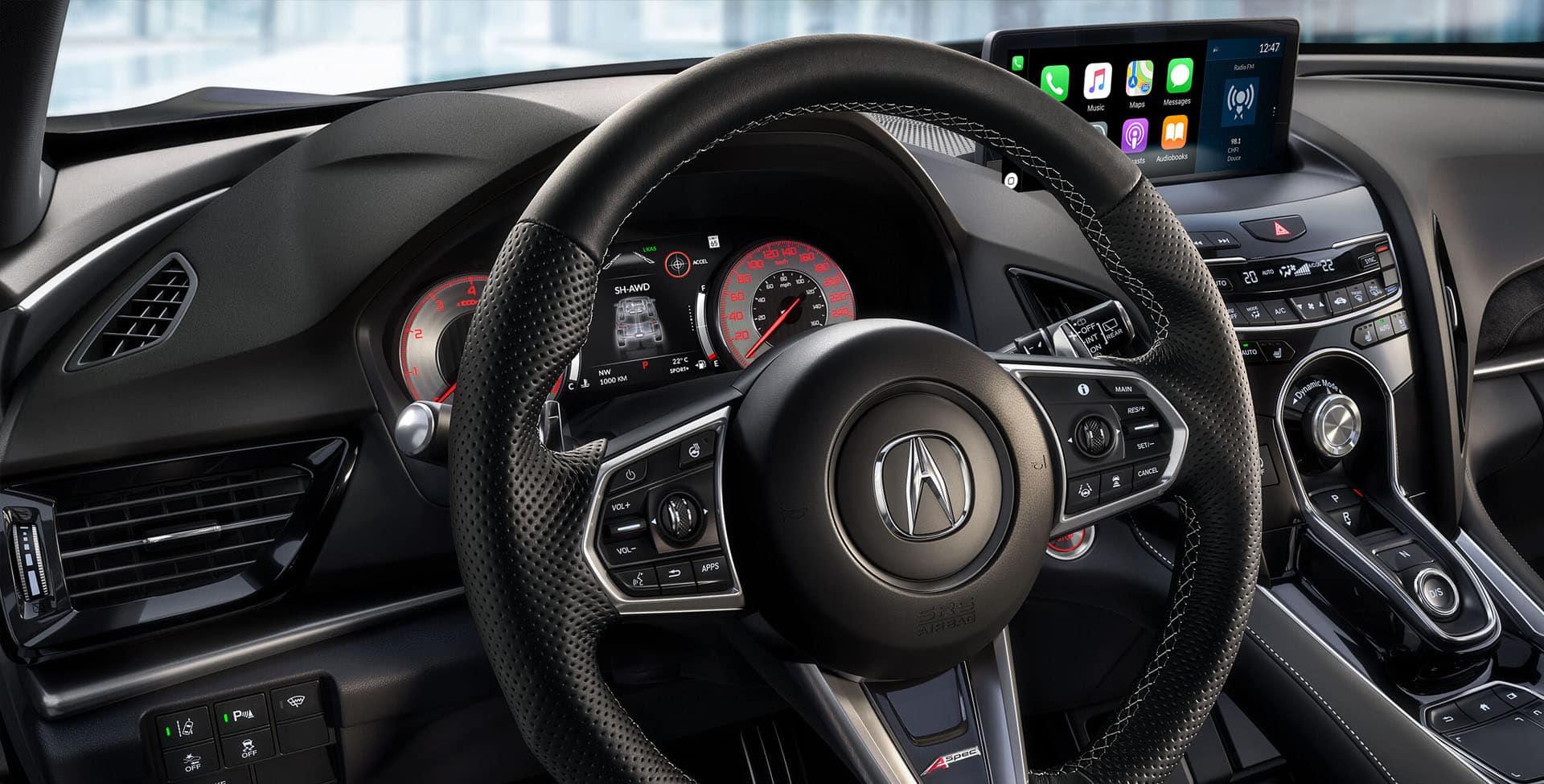 Acura RDX A-spec steering