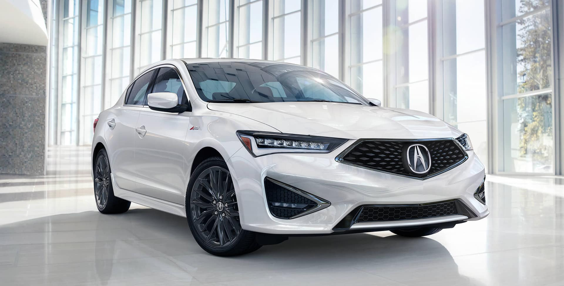 White Acura ILX