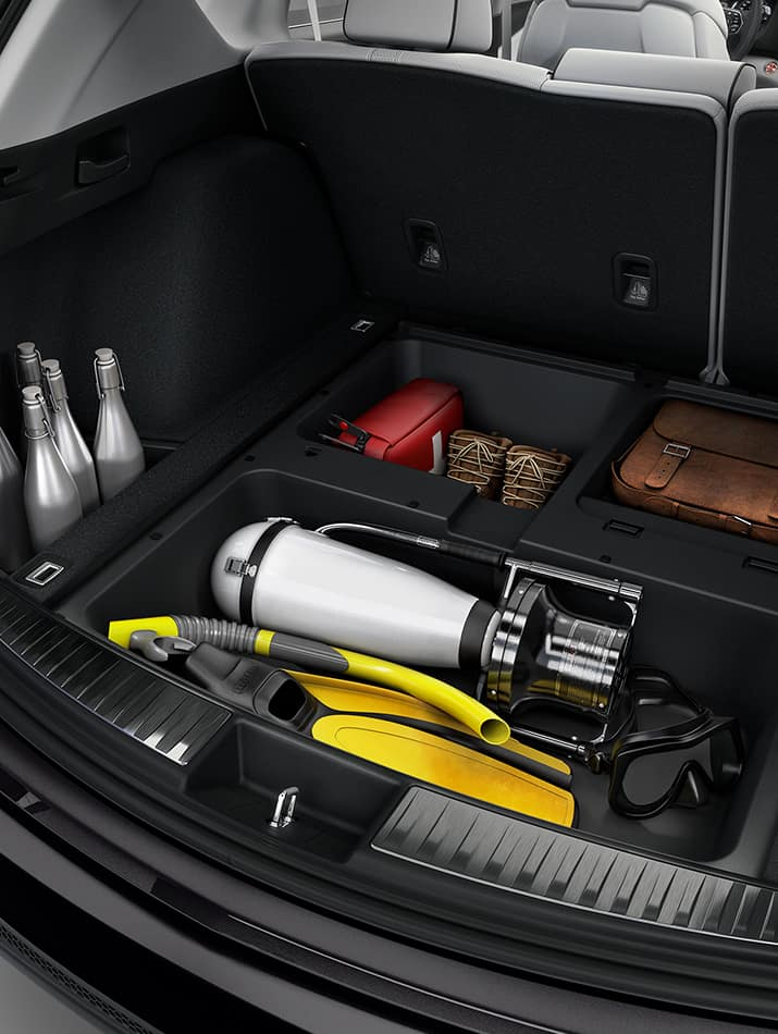 Acura RDX cargo space