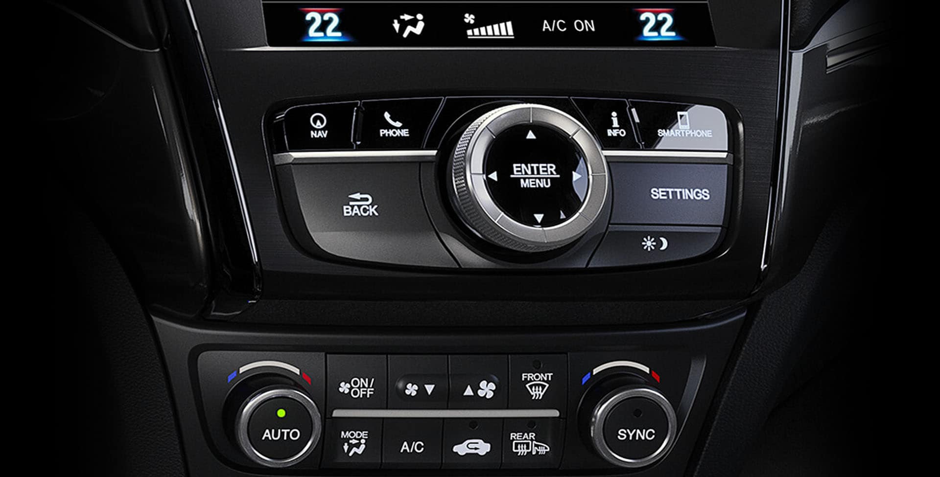 Acura ILX climate control features