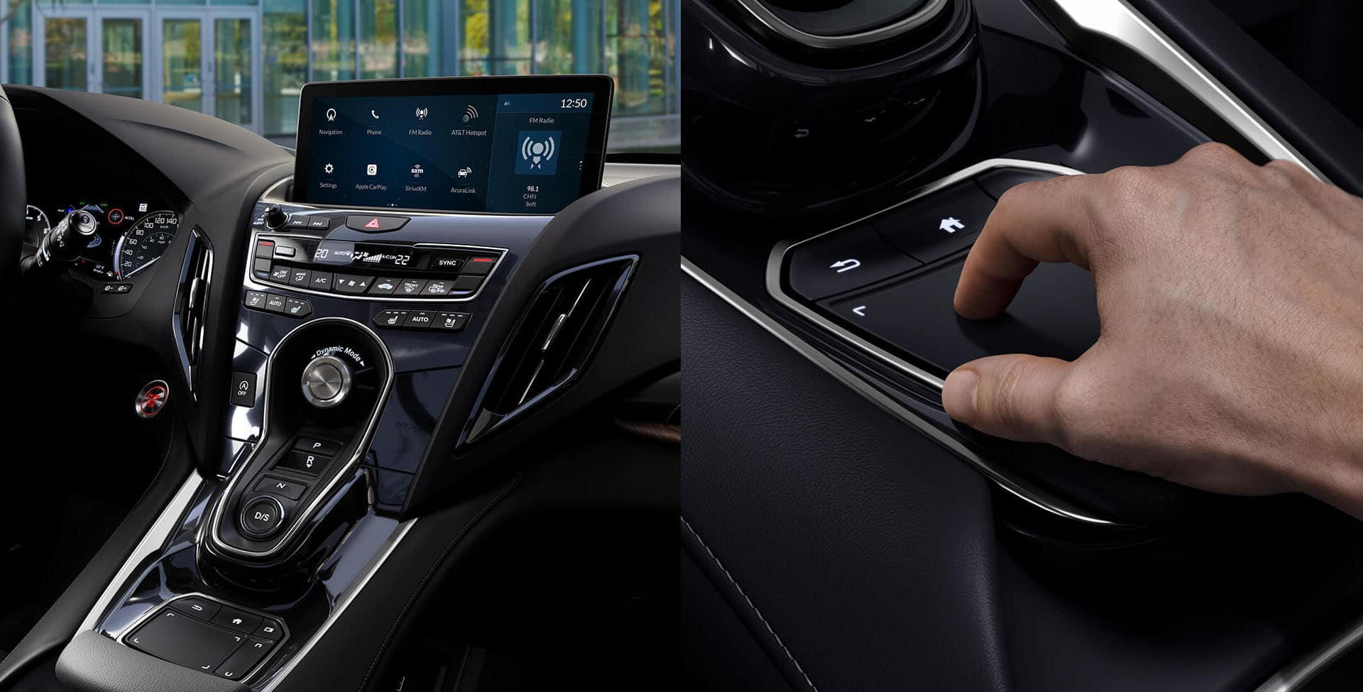 Buttons and such in the RDX