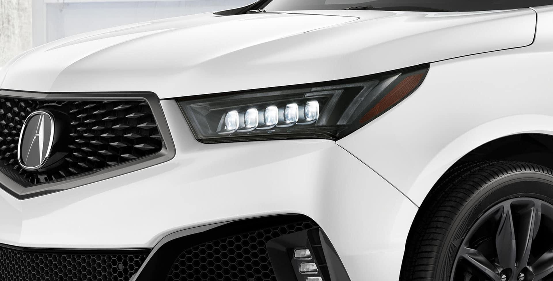 Acura MDX dark shadow accents