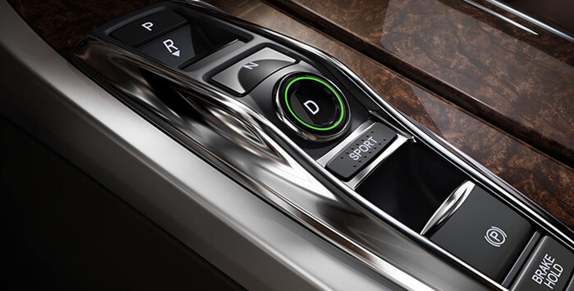 Acura RLX electronic gear selector