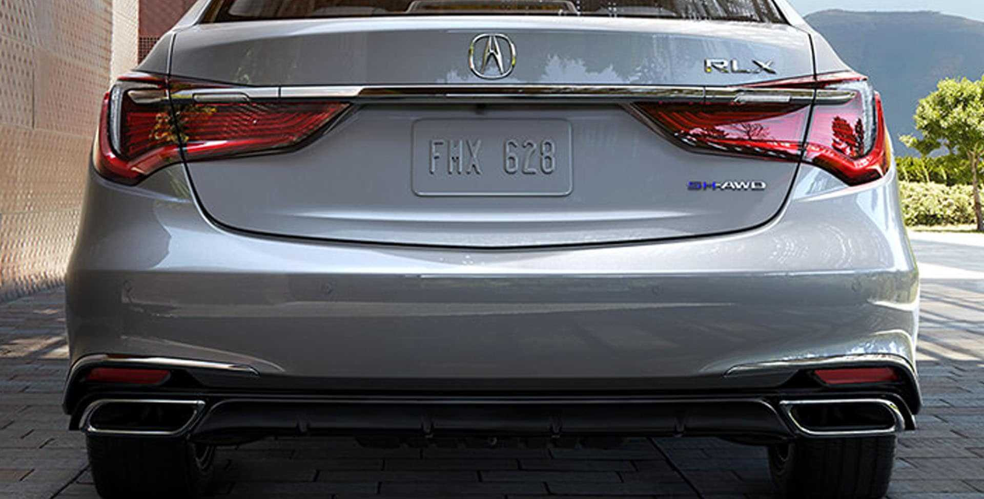 Acura RLX exhaust finishers