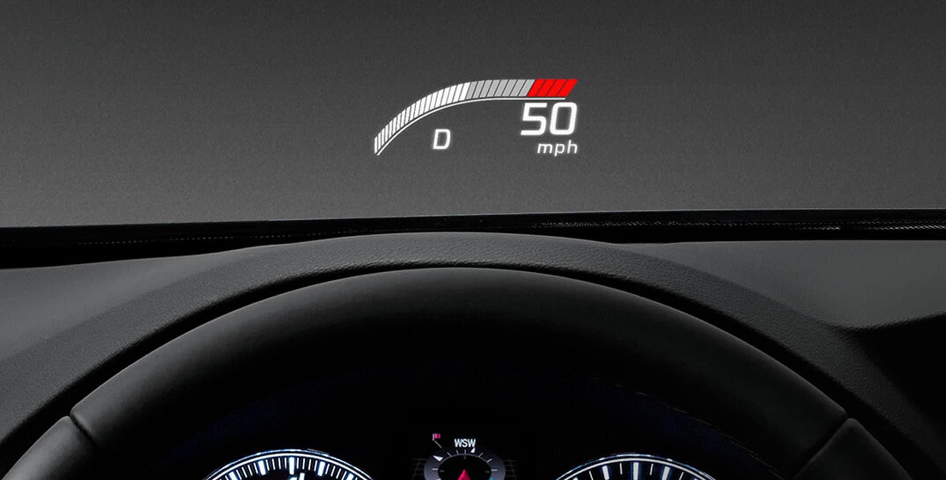 Acura RLX HUD