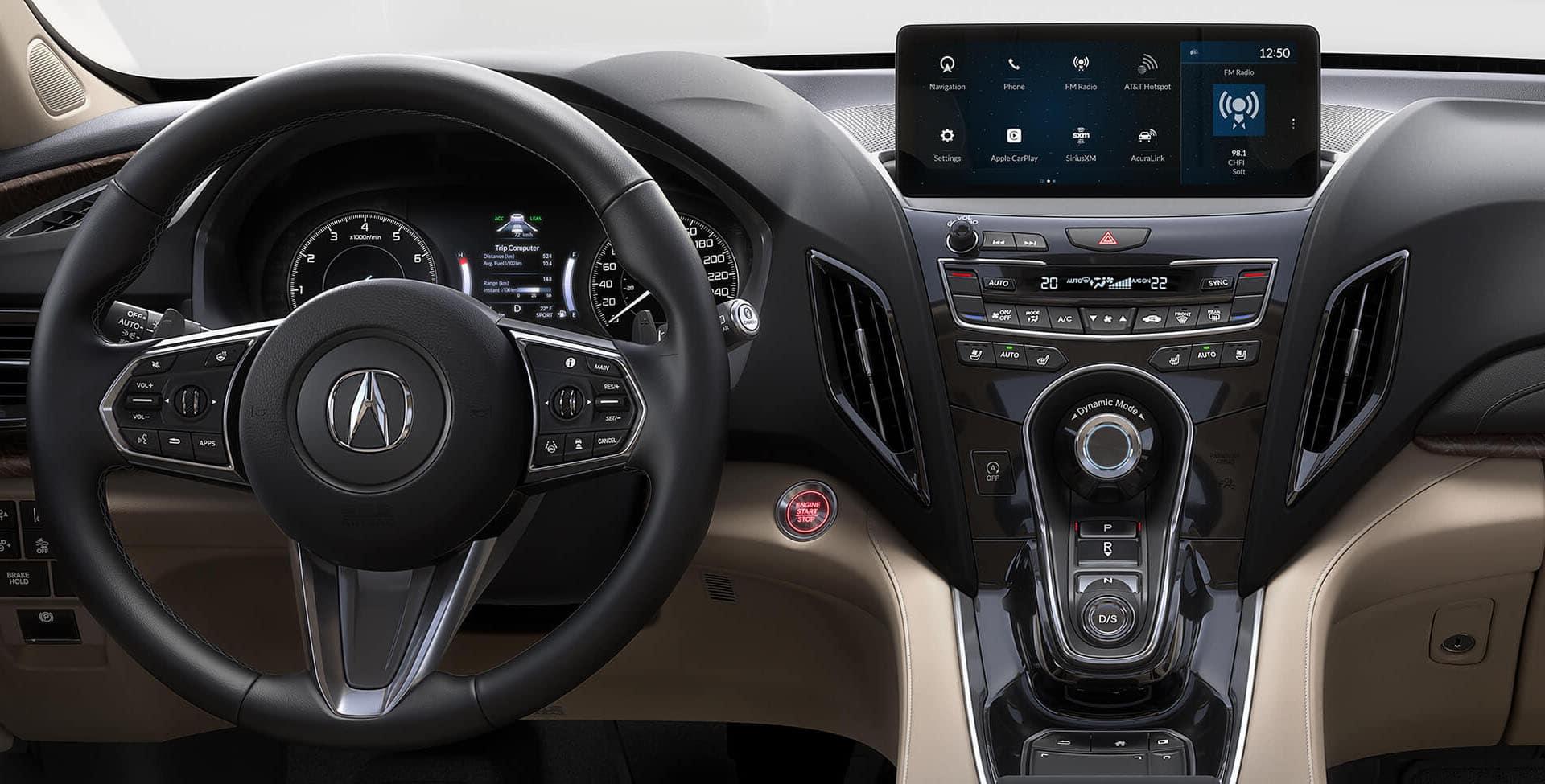 Acura RDX interior options
