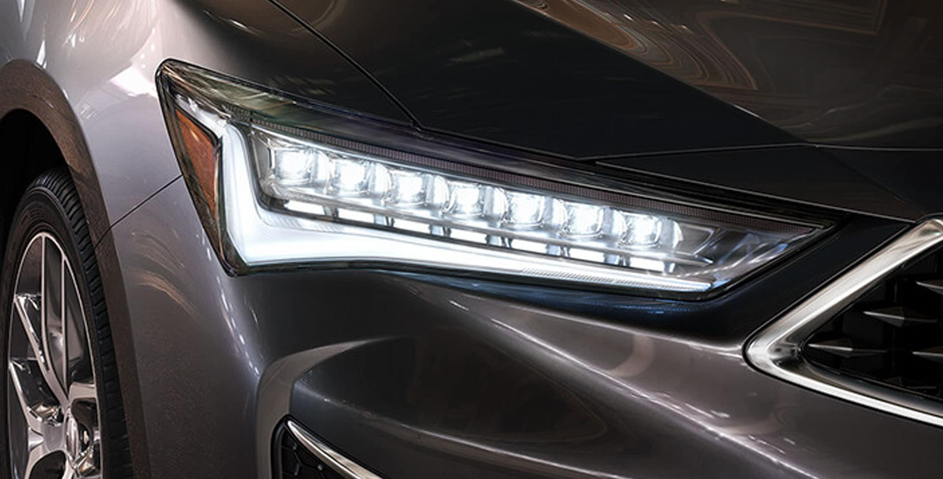 Acura ILX LED headlights