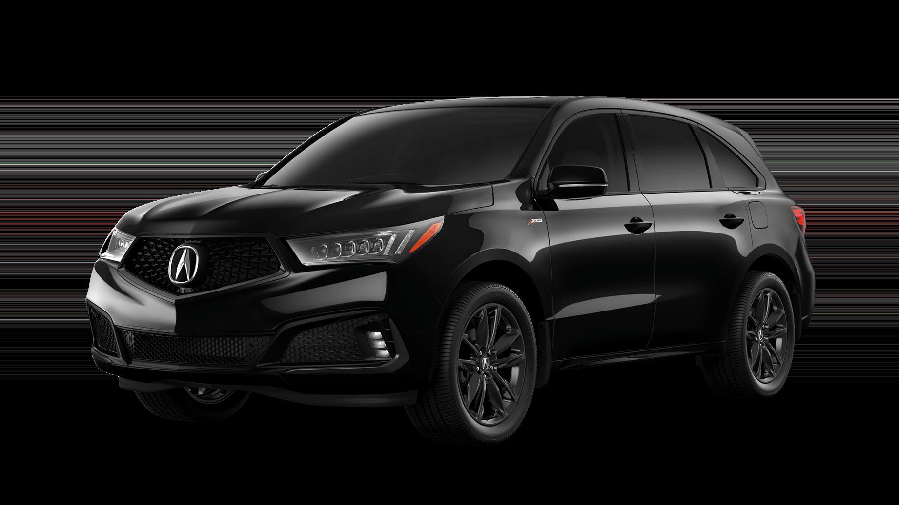 Black Acura MDX A-spec
