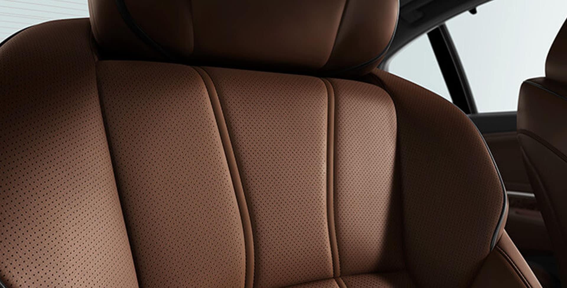 Acura RLX Milano Seats