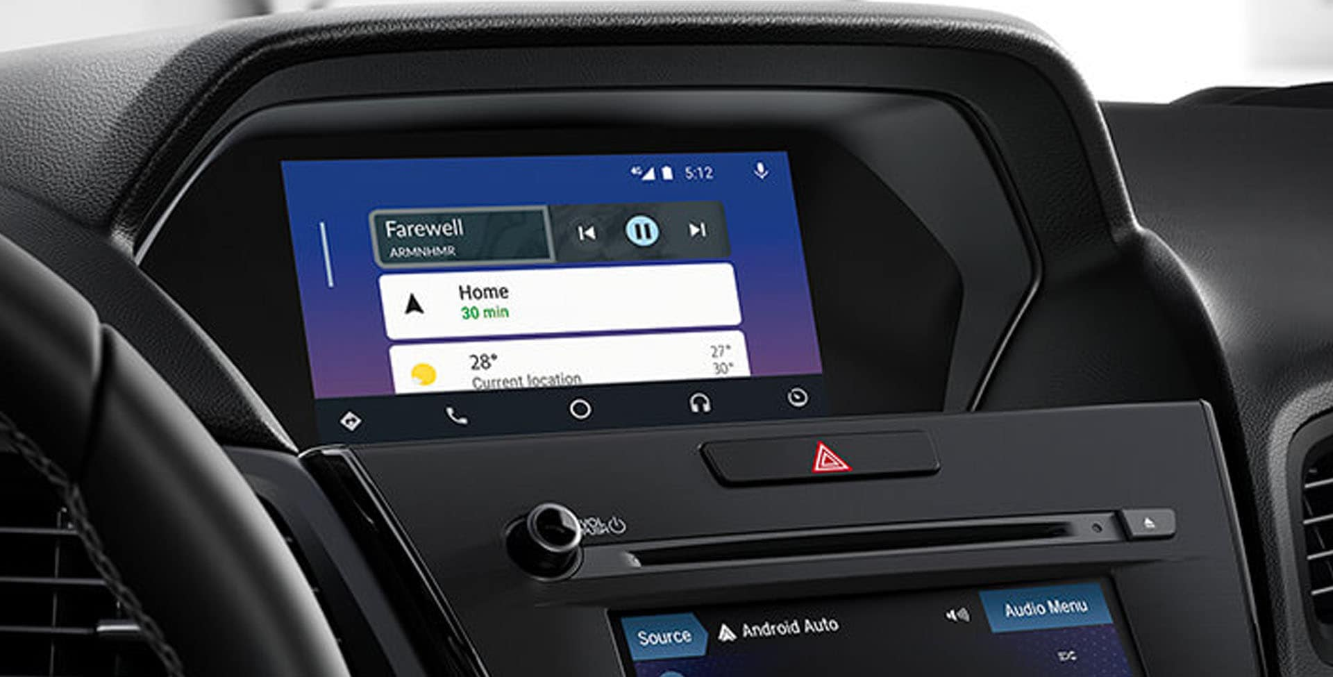 Acura ILX multi-use display