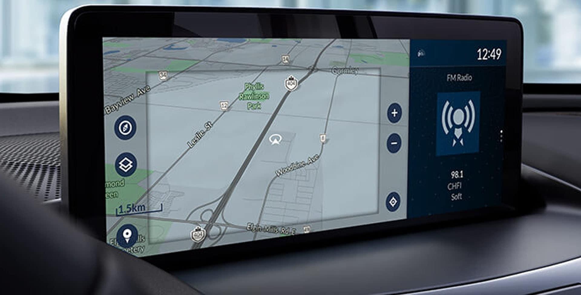Acura RDX navigation