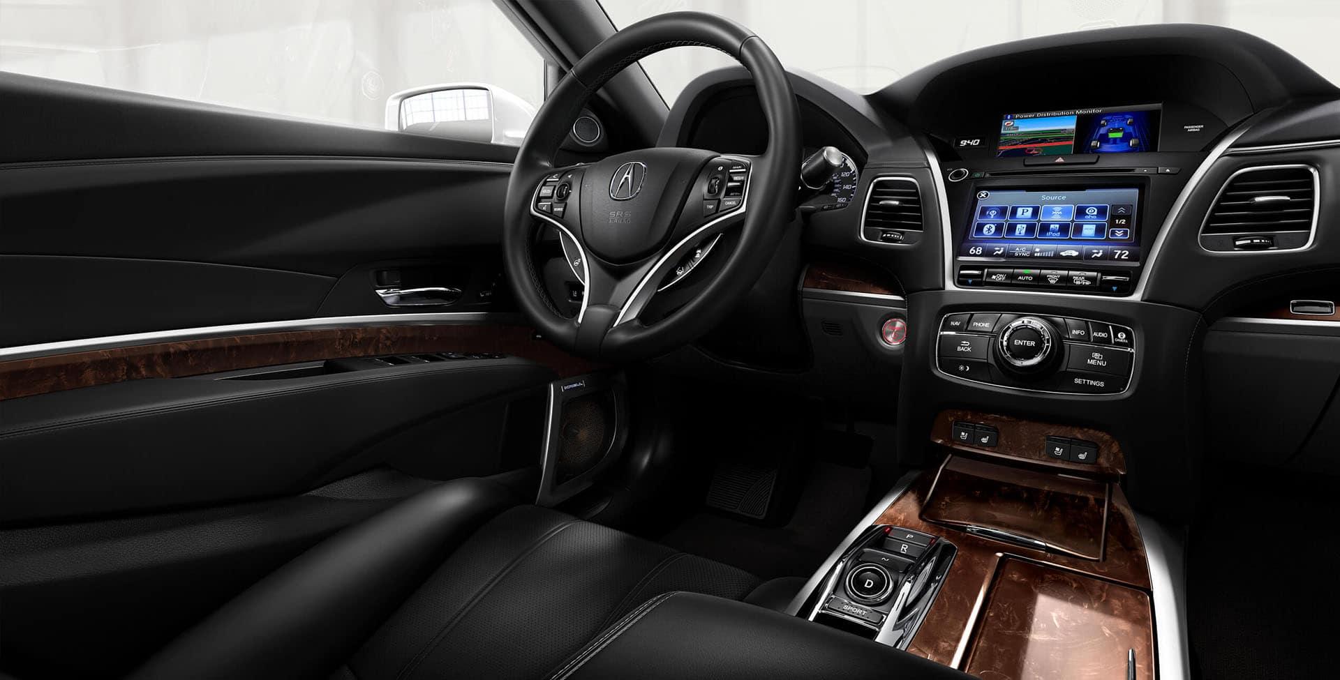 Acura RLX interior