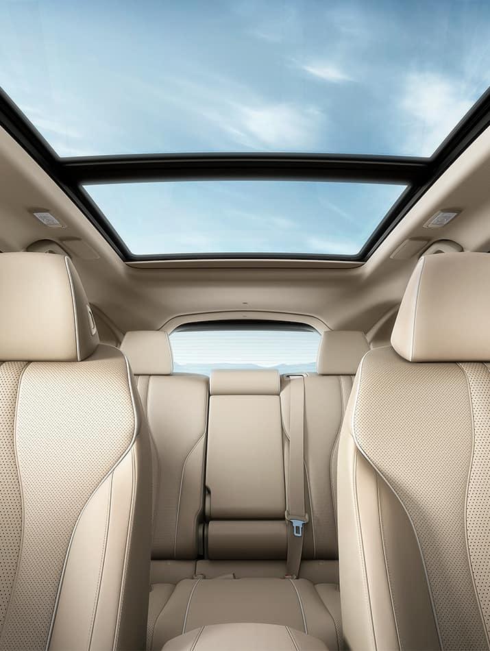 Acura RDX panoramic moonroof