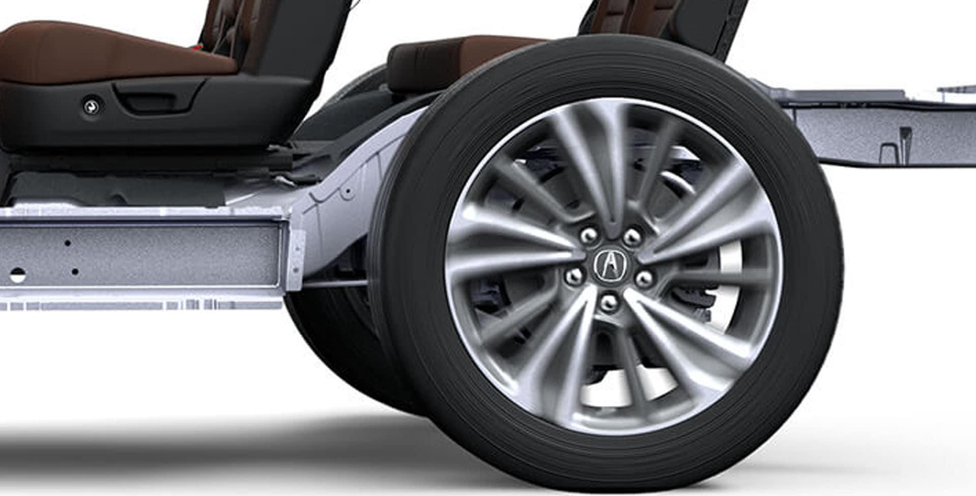Acura MDX rear suspension