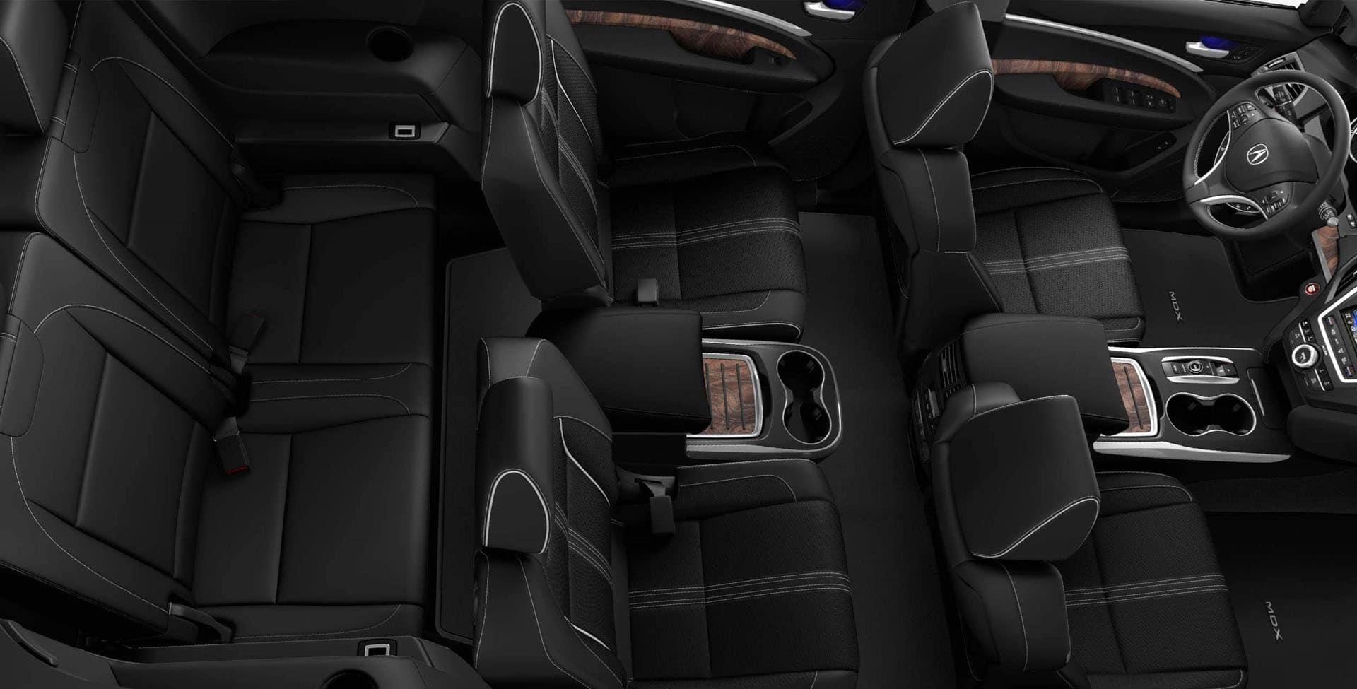 Acura MDX third row