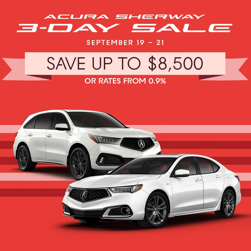 Acura 3-Day Sale