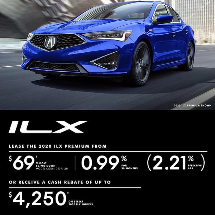 2020 Acura ILX Special