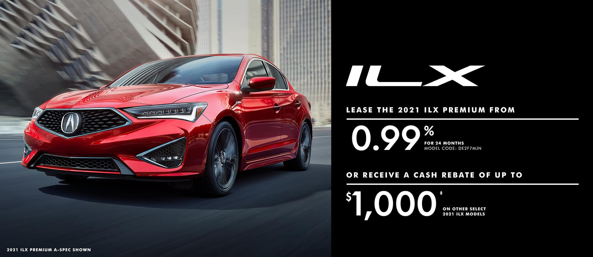 Acura ILX May Offer
